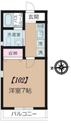 (仮称)板橋区富士見町マンション の間取り