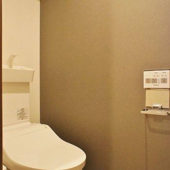 トイレは洗浄便座です※写真は前回募集時のものです