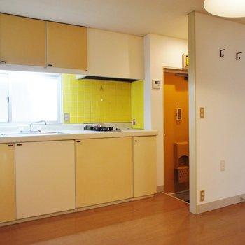 キッチン大きいですね!