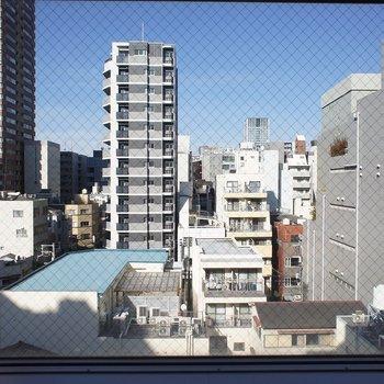 大きい窓からの眺めもGOOD!