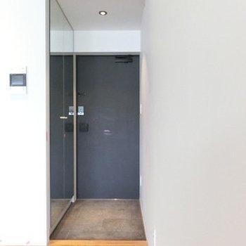 玄関部です。※写真は別部屋