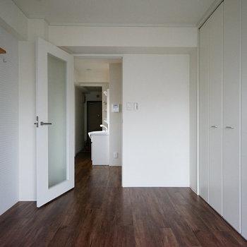 居室はシンプルで使いやすい◎