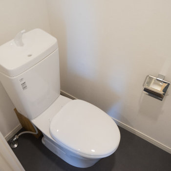 トイレも新品に交換◎※写真はイメージです