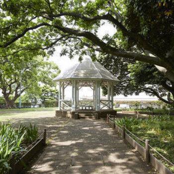 山手公園、桜が楽しみ◎
