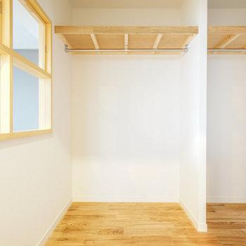 寝室と内窓でつながります♪