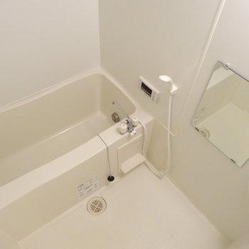 お風呂は追い炊き付き、きれい!