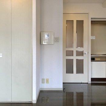 ドアのデザインが可愛いなあ。※写真は前回募集時のものです