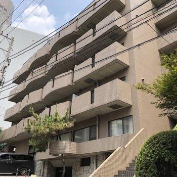 鉄筋コンクリートの立派なマンションです。