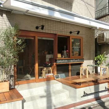 近くにあったカフェ