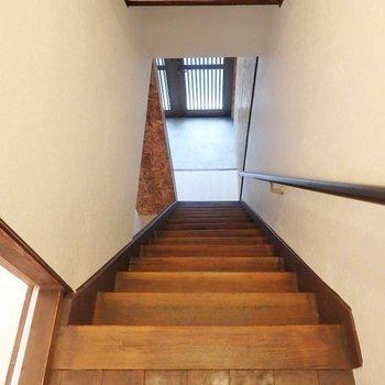 階段は急こう配!