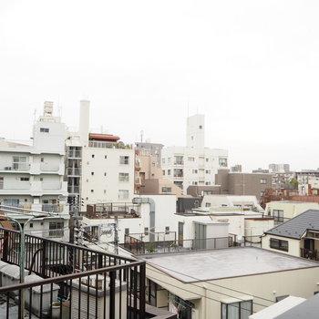 7階からは、風がきもちい〜〜!