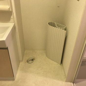 洗濯機はここに※写真は前回募集時のものです