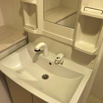洗面台はこんな感じ※写真は前回募集時のものです