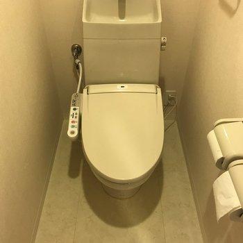 トイレはもちろんウォシュレットつき!※写真は前回募集時のものです