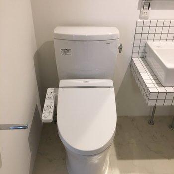 トイレも綺麗ですよ!