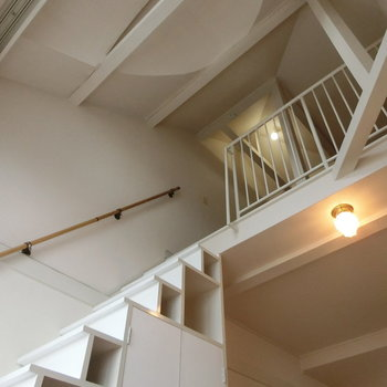 さて、2階へ