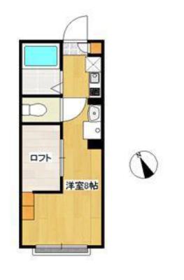 ほんとは天井の低くて狭い所が好きなんだ の間取り