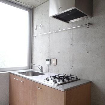 1階にあるキッチン。