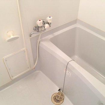 お風呂は普通サイズ。※写真は同間取り別部屋