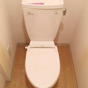おトイレ。※写真は同間取り別部屋