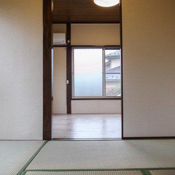 和室ももちろん無垢床に変わります※写真は工事前です