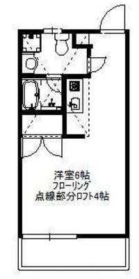 吉祥寺的リズムの間取り図