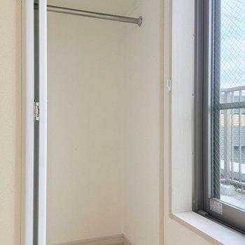 居室の収納はスリム ※写真は前回募集時のものです