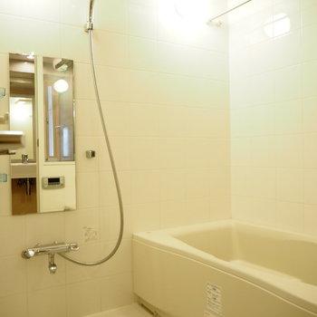 ゆったりお風呂は、もちろん追い焚き機能付き◎