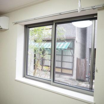 窓からの眺めは。。※写真は別部屋
