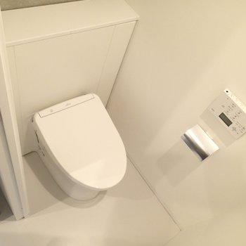 トイレはシンプルに。※写真は前回募集時のものです