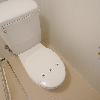 シンプルなトイレです!※写真は前回募集時のもの