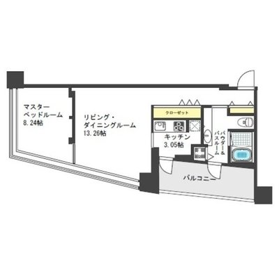 ザ・タワー大阪レジデンス の間取り