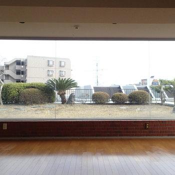 屋上日本庭園