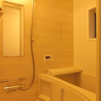 あたたかな浴室