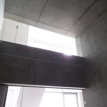 上のから光が落ちてきます。※写真は前回募集時のものです