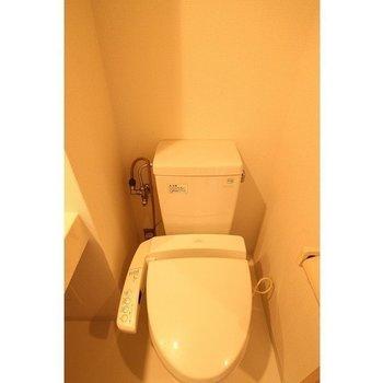 おトイレと※写真は反転間取り別部屋です。