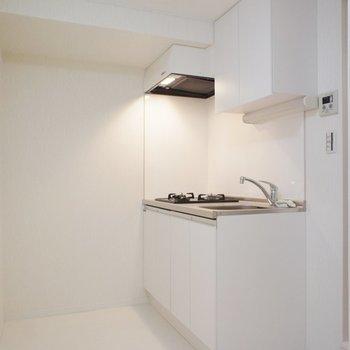 キッチンはこんなスペースに