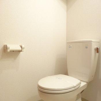 脱衣所にトイレ。ウォシュレット・暖房ありません