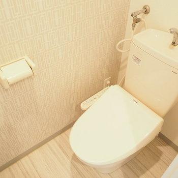 ナチュラルな雰囲気のトイレ