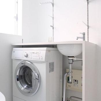 洗濯機は乾燥機つき!