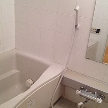 お風呂場もちょっとよさげ※写真は別のお部屋です