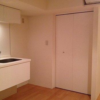キッチンもデザインされています※写真は別のお部屋です
