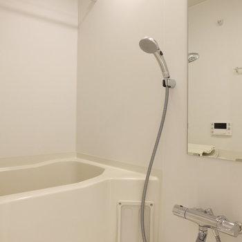お風呂場も清潔感◯