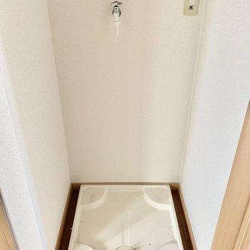 洗濯パンは室内に置けます。