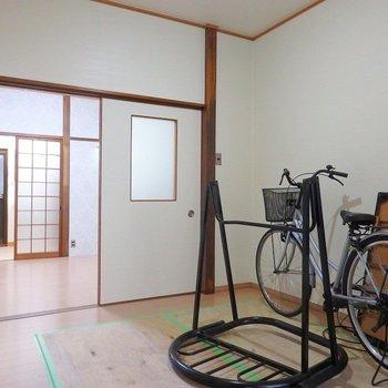 こちらは食堂にいかが?※ごめんなさい、自転車等移動できませんでした、、!