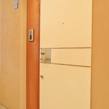 ドアのデザインも素敵