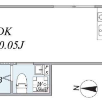 角部屋で2面採光のお部屋です。