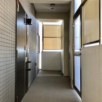 1フロアに1部屋のみなので、共用部も独占できます。