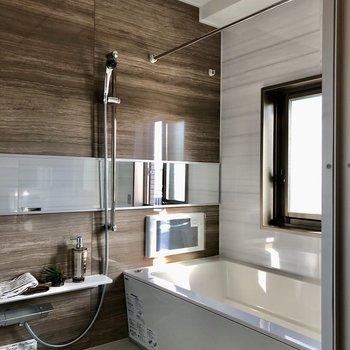 充実設備のお風呂。