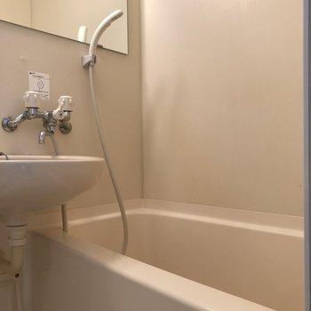 深めのお風呂です。※写真は前回募集時のものです